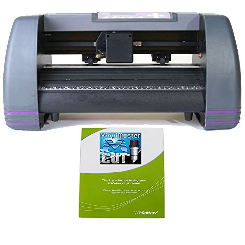 - USCutter 14 inch MH Craft Vinyl Cutter Plotter With VinylMaster (Design and Cut) Software