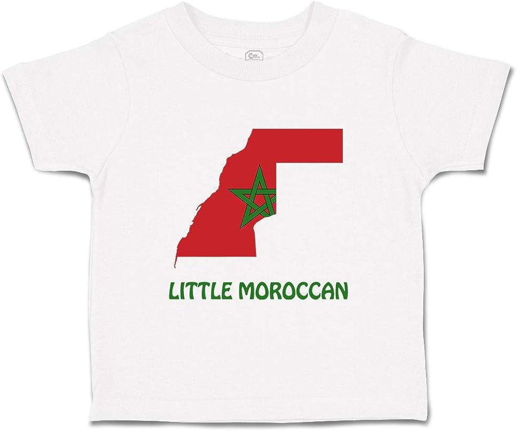 Custom Baby /& Toddler T-Shirt Little Moroccan Cotton Boy Girl Clothes