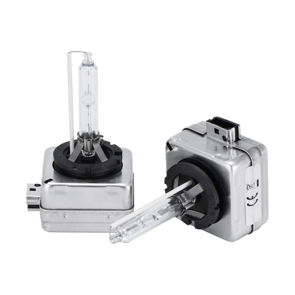 S-Auto-Spare - Car HID Bulbs D1S Replacement Headlight Bulbs 2 Pcs Lamps 12v 35w Spotlight HID 6000K 8000K Auto Flash Lights