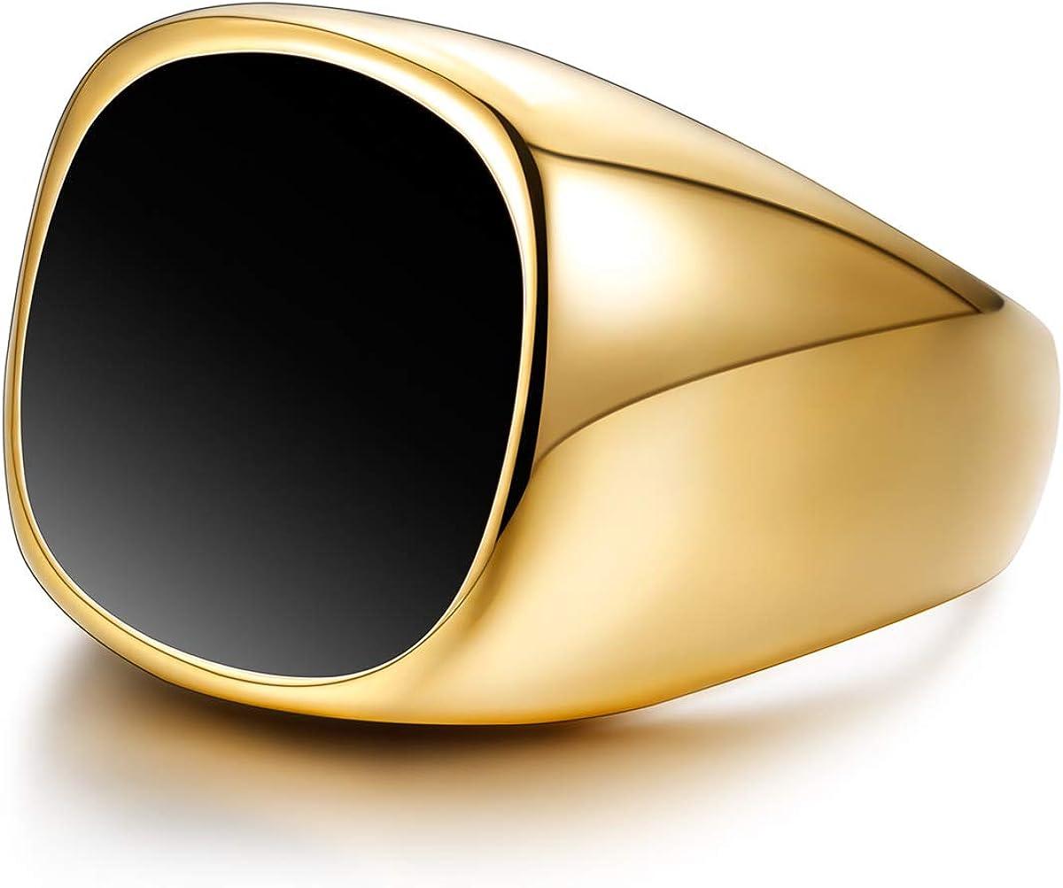 sailimue Anelli in Acciaio Inox per Gli Uomini Biker Matrimonio Engagement Anelli Size 7-13