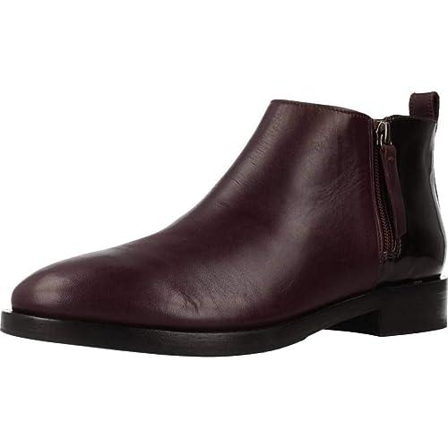 Geox Donna Brogue F, Botines Femme: : Chaussures et