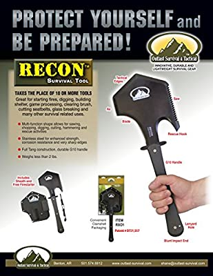 Recon Survival Tool by Outlast Survival & Tactical
