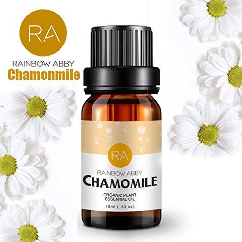 Chamonmile Essential Oils - 100% Pure Natual Plant Olis, Best Therapeutic Grade - Aromatherapy, Massage, Beauty - 10mL