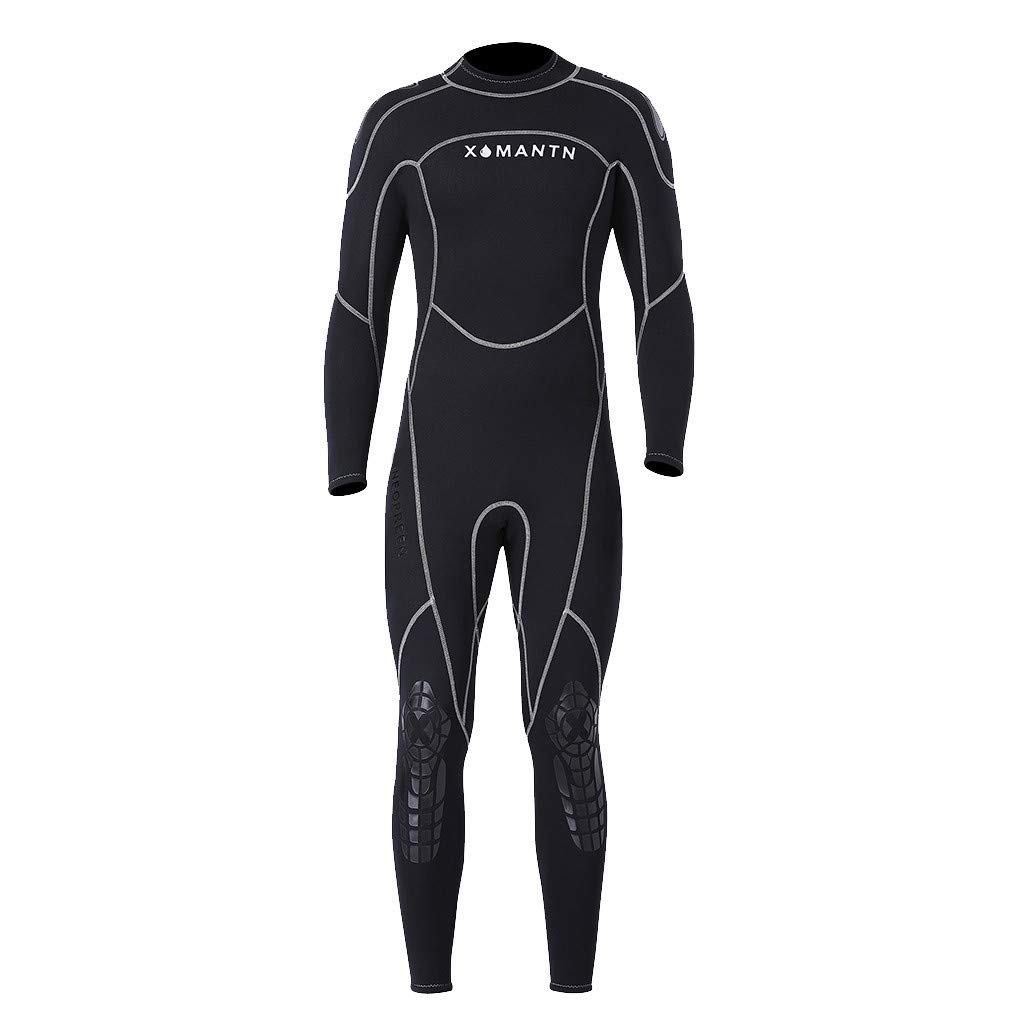 Yliquor Men's Keep Warm Sunscreen Swimming,Surfing and Snorkeling Diving Coverall SuitQuick Dry Classic Fashion Breathable Elastic Comfy Training by Yliquor (Image #2)