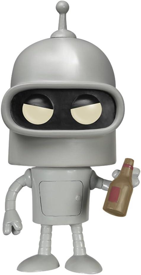 Funko POP TV: Futurama - Bender Action Figure,Multi-colored,3.75 inches