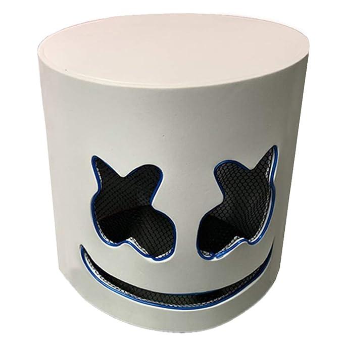 Amazon.com: Máscara LED de diseño para DJ, cascos de ...