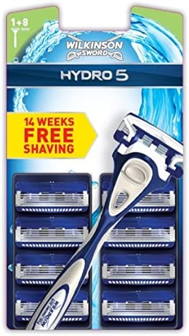 Wilkinson Sword Hydro 5 - Juego de 9 cuchillas de afeitar y ...