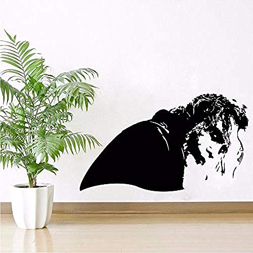 3D Wall Stickers Wall Sticker Fantasy Collection for Wall Decor Joker Villain Side Looking Vinyl Wall Decals Poster 73 42Cm