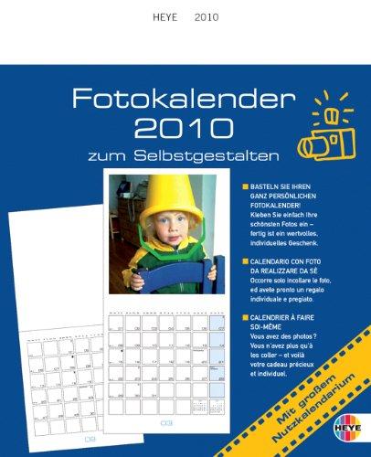 Fotokalender zum Selbstgestalten 2010 groß