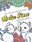 Fun Cute And Stress Relieving Arctic Foxes Coloring