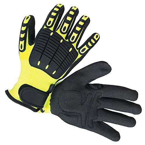 Impacto NS2800040 Anti-Impact Back Tracker Glove, Black