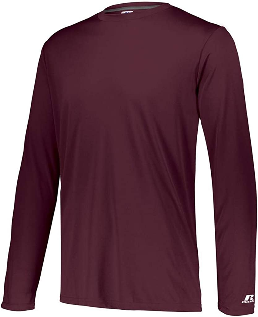 Russell Athletic Mens Long Sleeve Performance T-Shirt
