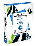 #8: Hammermill Paper, Copy Plus Paper, 8.5 x 11 Paper, Letter Size, 20lb Paper, 92 Bright, 1 Ream / 500 Sheets (105007R) Acid Free Paper