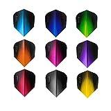 5 x Sets Harrows Sonic Mixed Colour Dart Flights Standard