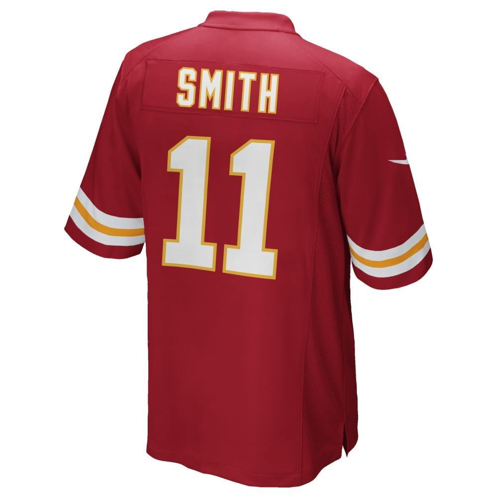12589893 Nike Alex Smith Kansas City Chiefs Youth Red Jersey (Youth Sizes)