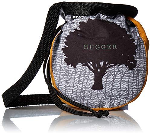 prAna Unisex Graphic Chalk Bag with Belt, Curry Tree Hugger, One Size (Prana Chalk Bag)