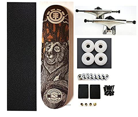 VJ skateshop Element Skateboard Completes 8