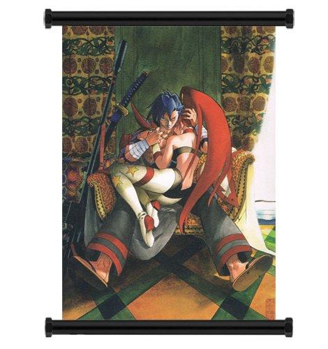 Gurren Lagann Anime Fabric Wall Scroll Poster  Inches. -Gurr