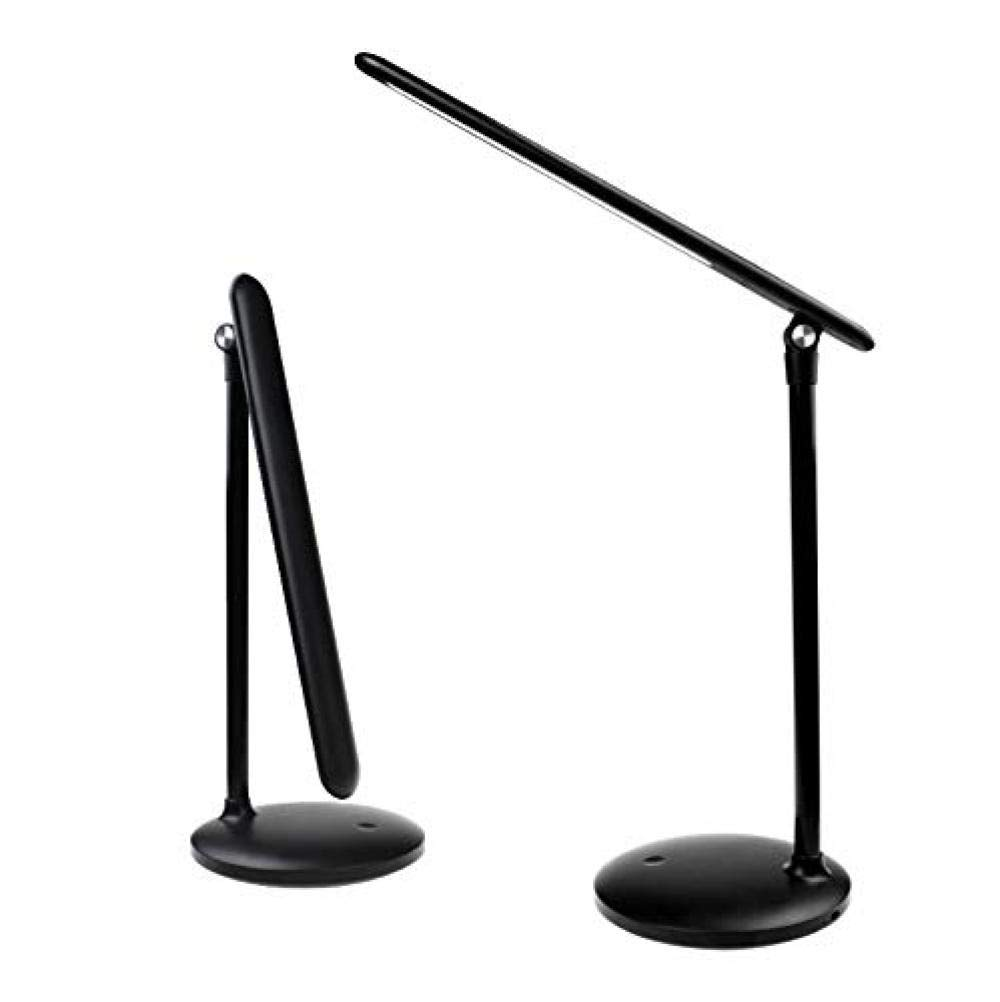 Lámpara de mesa LED Cargador USB regulable Protección de los ojos ...