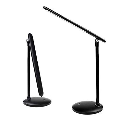 Lámpara de mesa LED Cargador USB regulable Protección de los ...