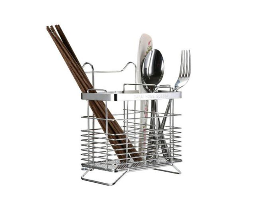 LFHFCFSN HJHY® Kitchen racks, Chopstick holder Knife and fork Storage rack Multifunction Square 9*15*12cm Waterproof Easy clean HAOJIAHAOYE