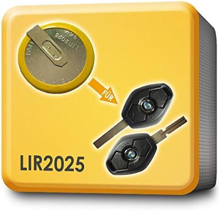 Lir2025 Battery Key Remote Control Replacement For Bmw Amazon De Elektronik