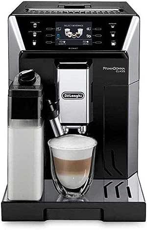ديلونجي ماكينات صنع وتحضير حبوب القهوة حبوب,اسود - ECAM 550.55 SB
