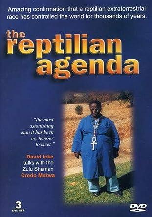 David Icke: The Reptilian Agenda 3 Dvd Edizione: Stati Uniti ...