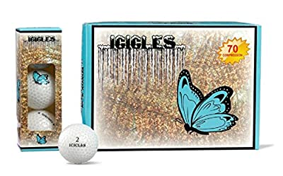 Vgolf Butterfly Logo Crystal Ball (Pack of 12)