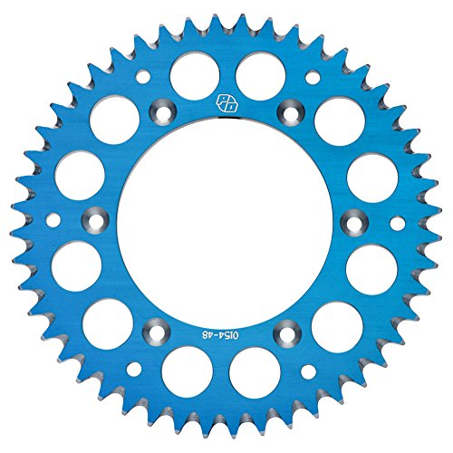 Primary Drive Rear Aluminum Sprocket 49 Tooth Blue - Fits: Yamaha YZ250 1999-2018 (Aluminum 49 Teeth)