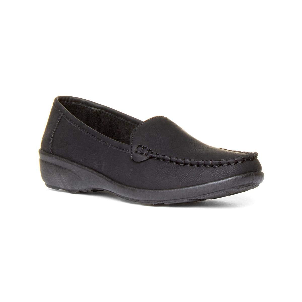 000d86ed2bf Softlites Womens Black Casual Comfort Loafer Shoe  Amazon.co.uk  Shoes    Bags