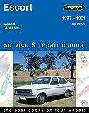 Ford Escort BC Sedan Van 1600, 2000cc 4cyl Gl Ghia Rs2000 (1977-81)
