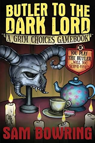 book cover of Butler to the Dark Lord
