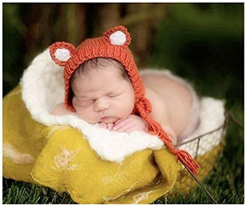 2pcs Cute Lovely Baby Infant Knitted Photography Props Costume Clothes Outfit Hat Cap for Newborn Girl Boys Photo Supplies