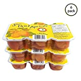 Trader Joe's Sun Dried Apricots Trio Pack Natural Fruit Snacks - 6 Pack (4.75 oz)