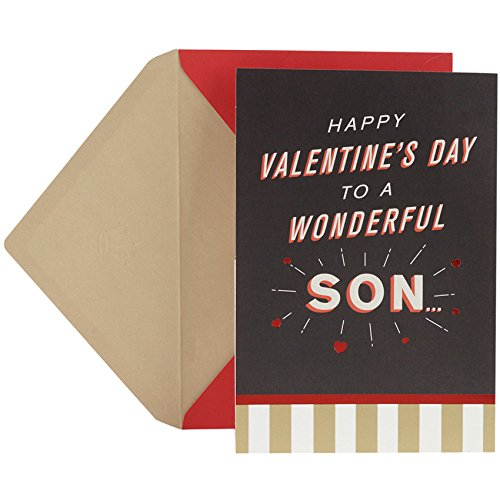 Hallmark Valentine's Day Greeting Card for Son (Big Heart Pop Out)