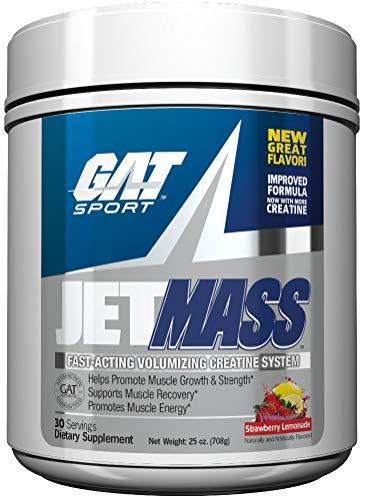 GAT JETMASS Fast Acting, volumizing Formula Creatine System 30/S (Strawberry Lemonade)