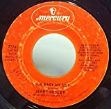 Jerry Butler Walk Easy My Son / Let Me Be 45 rpm single