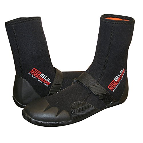 Gul Strapped Power 5mm Boot 2014 - Black/Red 13