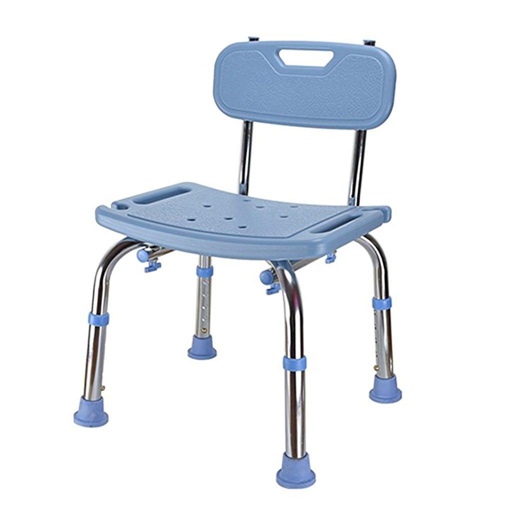 Alta calidad Ducha / Taburetes de baño Asiento de ducha de aleación de aluminio Mujeres embarazadas / Ancianos / Discapacitados Alfombrillas antideslizantes ...