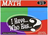 Teacher Created Resources I Have. Who Has.? Math Games Grade 2-3 (7818)