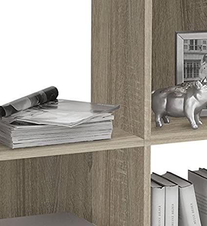 Col: Bianco Liberty A7 Mat: Nobilitato. 13Casa Libreria Dim: 72x33x78 h cm