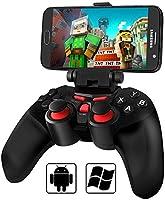 Android Bluetooth Game Controller, BEBONCOOL Bluetooth Gamepad, Wireless Phone Controller (For Android Phone / Tablet / Samsung Gear VR) Gear VR Controller Gameboy / Nintendo DS Emulator