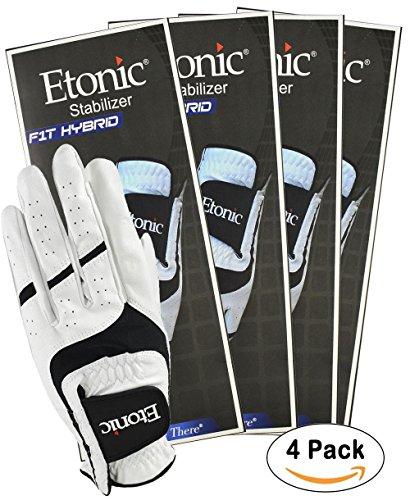 Etonic Golf- MLH Stabilizer F1T Hybrid Glove (4 (Etonic Mens Golf Glove)