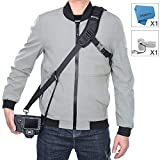 Camera Strap Rapid Fire Shoulder Neck Strap Sling Belt Quick Release and Safety Tether for DSLR SLR Camera (ztowoto)