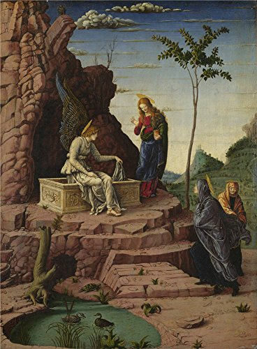 [Oil Painting 'Imitator Of Andrea Mantegna The Maries At The Sepulchre' 20 x 27 inch / 51 x 69 cm , on High Definition HD canvas prints is for Gifts And Home Office, Home Theater And Study Room decor] (53 Carte 1 Light)