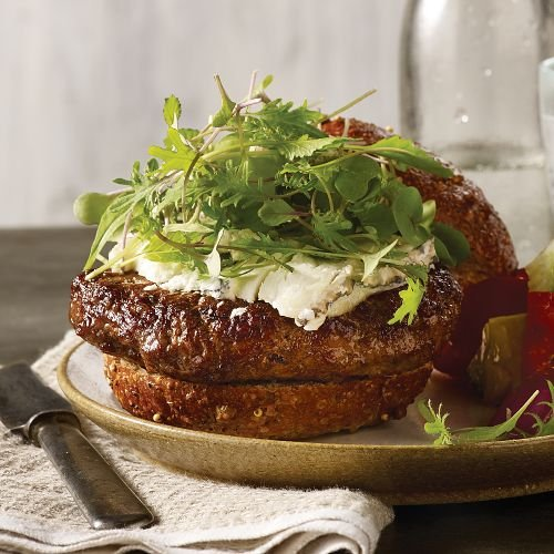 Omaha Steaks 8 (6 oz.) Grass-Fed Ground Beef Burgers