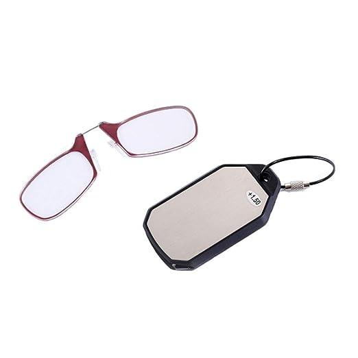CLOUD Gafas De Lectura Mini Clip Nariz Slim/SOS Hombres Y ...