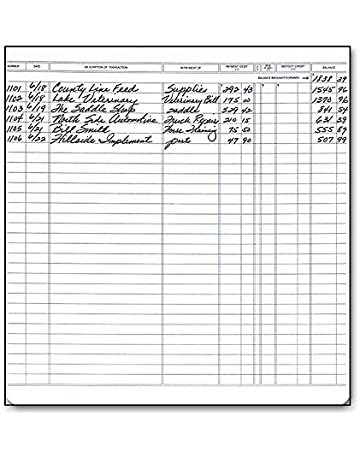 check registers amazon com office school supplies forms