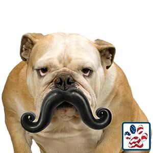 junior Humunga Stache dog toy